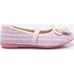 Gioseppo - Baleriny dziecięce Mambi. Różowe baleriny dziewczęce marki Gioseppo, z gumy. W wyprzedaży za 49,90 zł.