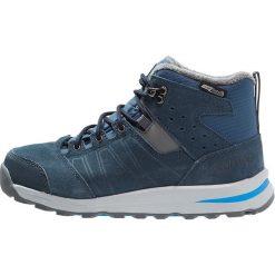 Salomon UTILITY TS CSWP  Śniegowce slate blue/deep blue/pool. Niebieskie buty zimowe chłopięce Salomon, z gumy. W wyprzedaży za 291,75 zł.