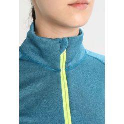 Bluzy damskie: Craft SPARK Bluza teal melange/typhoon/go
