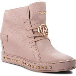 Sneakersy CARINII - B4453  K14-000-000-C98. Czerwone sneakersy damskie Carinii, z materiału. W wyprzedaży za 229,00 zł.
