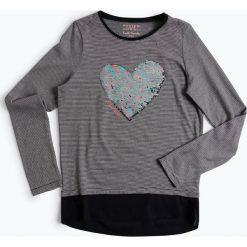 Bluzki dziewczęce: Review - Dziewczęca koszulka z długim rękawem, niebieski