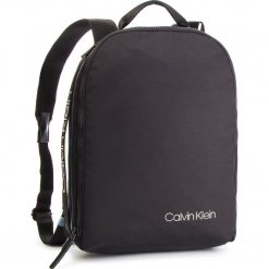 Plecak CALVIN KLEIN - Clash Round Backpack K50K504197 001. Czarne plecaki męskie Calvin Klein, z materiału. Za 449,00 zł.