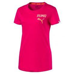 Puma Koszulka Athletic Tee W Bright Rose M. Czerwone bluzki sportowe damskie marki Puma, m. W wyprzedaży za 59,00 zł.
