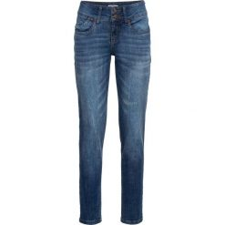 Dżinsy ze stretchem CLASSIC bonprix niebieski. Niebieskie jeansy damskie bonprix. Za 109,99 zł.