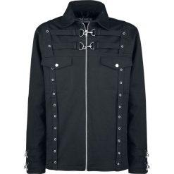 Chemical Black Aleksi Jacket Kurtka czarny. Czarne kurtki męskie Chemical Black, l, w paski. Za 244,90 zł.
