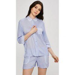 Dkny - Piżama. Szare piżamy damskie marki DKNY, l, z dzianiny. W wyprzedaży za 239,90 zł.