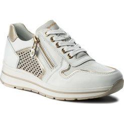 Sneakersy NERO GIARDINI - P805241D Skipper Bianco 707. Białe sneakersy damskie Nero Giardini, z materiału. W wyprzedaży za 439,00 zł.
