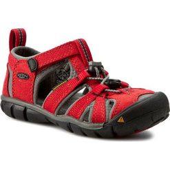 Sandały KEEN - Seacamp II Cnx 1014470 Racing Red/Gargoyle. Czerwone sandały męskie skórzane marki Born2be, z otwartym noskiem, na zamek. Za 239,95 zł.