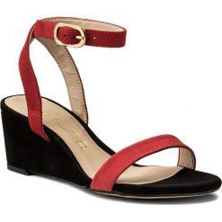 Sandały damskie: Sandały UNISA – Ordino Ks Pom/Red/Bl Ksde S