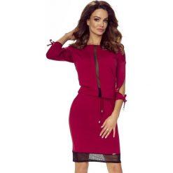 VARIA uniwersalna i wygodna sukienka BORDO. Czerwone sukienki Bergamo, uniwersalny. Za 119,99 zł.