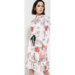 Sukienki dzianinowe: Różowa Sukienka Give Me The Reason