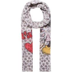 """Chusty damskie: Chusta """"Kissing Mickey and Minnie"""" w kolorze szarym – 190 x 70 cm"""