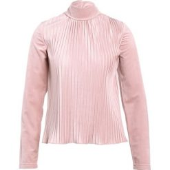 Swetry klasyczne damskie: Soft Rebels Sweter dusty rose