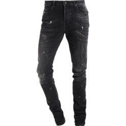 Spodnie męskie: Cars Jeans CAVIN Jeansy Slim Fit black used