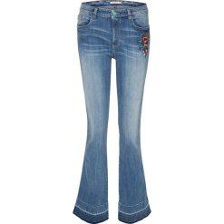 """Spodnie z wysokim stanem: Dżinsy """"Sunny"""" w kolorze niebieskim"""