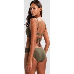 Bikini: Seafolly SEAFOLLY TWIST BAND HIPSTER Dół od bikini dark olive