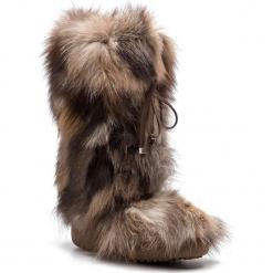Kozaki NEW ITALIA SHOES - 1415881/2 Gold Brown. Brązowe kowbojki damskie New Italia Shoes, ze skóry. Za 1819,00 zł.