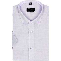 Koszula bexley 2511 krótki rękaw custom fit fiolet. Szare koszule męskie marki House, l, z bawełny. Za 89,99 zł.