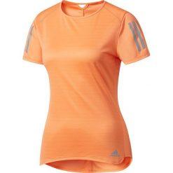 Adidas Koszulka damska Response Tee pomarańczowa r. XS (BP7455). Brązowe topy sportowe damskie Adidas, xs. Za 99,82 zł.