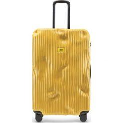 Walizki: Walizka Stripe duża Mustard Yellow