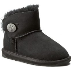 Buty EMU AUSTRALIA - Denman Mini W11255 Black. Czarne buty zimowe damskie marki Superfit, z gore-texu, przed kolano, na wysokim obcasie. Za 639,00 zł.