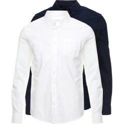 Koszule męskie na spinki: Burton Menswear London OXFORD 2 PACK Koszula navy