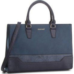Torebka MONNARI - BAG9970-013 Navy. Niebieskie torebki klasyczne damskie Monnari, ze skóry ekologicznej. W wyprzedaży za 199,00 zł.