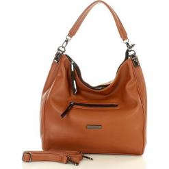 MONNARI Funkcjonalna torebka miejska karmelowy. Pomarańczowe torebki klasyczne damskie Monnari, w paski, ze skóry. Za 159,00 zł.