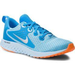 Buty NIKE - Legend React (GS) AH9437 400 Blue Chill/Metallic Silver. Niebieskie buty do biegania damskie Nike, z materiału. W wyprzedaży za 269,00 zł.
