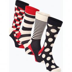 Happy Socks - Skarpety męskie pakowane po 4 szt., niebieski. Niebieskie skarpetki męskie marki Happy Socks. Za 149,95 zł.