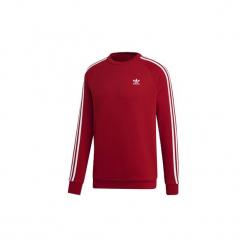 Bluzy adidas  Bluza z zaokrąglonym dekoltem 3-Stripes. Czerwone bluzy męskie rozpinane marki KALENJI, m, z elastanu, z długim rękawem, długie. Za 249,00 zł.