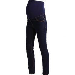 Boyfriendy damskie: Anna Field MAMA Jeansy Straight Leg dark blue denim