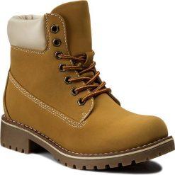Trapery JENNY FAIRY - WS722-6 Miodowy. Brązowe buty zimowe damskie Jenny Fairy, z polaru. Za 129,99 zł.