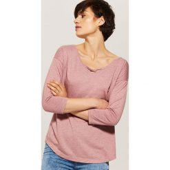 Oversize'owa bluzka - Różowy. Czerwone bluzki asymetryczne House, s. Za 45,99 zł.