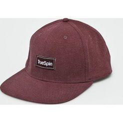 True Spin - Czapka Decent. Brązowe czapki z daszkiem męskie marki True Spin, z bawełny. W wyprzedaży za 49,90 zł.
