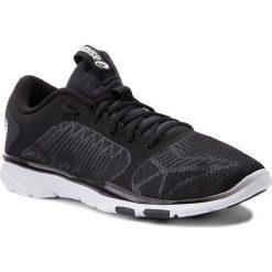 Buty ASICS - Gel-Fit Tempo 3 S752N  Black/Silver/White 9093. Czarne buty do fitnessu damskie marki Asics. W wyprzedaży za 199,00 zł.