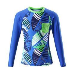 Bielizna dziewczęca: Reima Koszulka Dziecięca Z Długim Rękawem Bay Uv 50+ 104 Niebieska