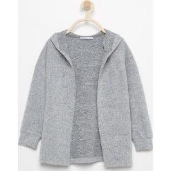 Sweter z kapturem - Jasny szar. Białe swetry dziewczęce marki Reserved, l. Za 139,99 zł.