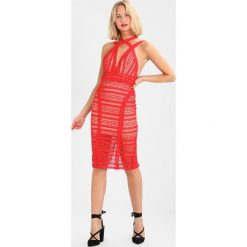 Sukienki hiszpanki: Love Triangle CROSS TOWN LOVER DRESS Sukienka koktajlowa red