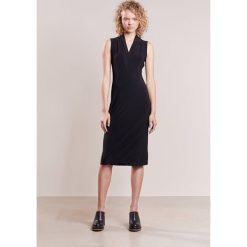 Odzież damska: Norma Kamali Sukienka z dżerseju black