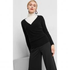 Kopertowy sweter. Brązowe swetry klasyczne damskie marki Orsay, s, z dzianiny. Za 99,99 zł.