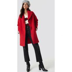Trendyol Płaszcz Oversize Stamp - Red. Czerwone płaszcze damskie pastelowe Trendyol. Za 283,95 zł.