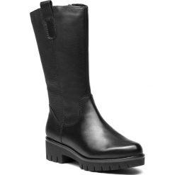 Kozaki MARCO TOZZI - 2-26629-21 Black Ant.Comb 096. Czarne buty zimowe damskie Marco Tozzi, z materiału, na obcasie. Za 399,90 zł.