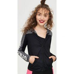 Bluzy damskie: Bluza na trening – Czarny