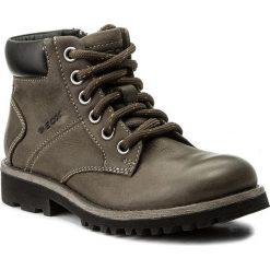 Buty zimowe chłopięce: Trapery GEOX – J Axel B. E J6486E 033BC C0062 S Dk Grey/Black