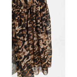 Długie spódnice: NAKD ANKLE LENGTH SKIRT Długa spódnica beige/black