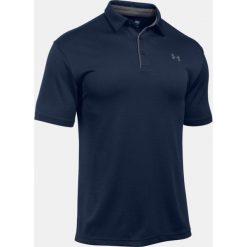 Koszulki polo: Under Armour Koszulka męska Tech Polo granatowa r. XXL
