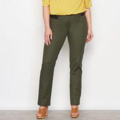 Spodnie z wysokim stanem: Proste spodnie z wysokim stanem