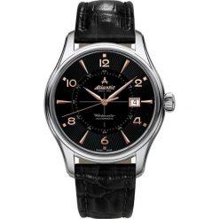 Zegarek Atlantic Męski  Worldmaster 1888 52752.41.65R Automatyczny. Czarne zegarki męskie Atlantic. Za 2964,99 zł.