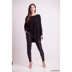 Bluzki asymetryczne: Bluzka luźna czarna